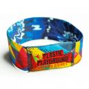 Custom made elastic stretch wristbands