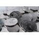 Custom made tokens made of aluminum