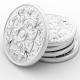 Aluminum tokens and aluminum coins