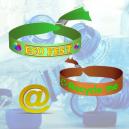 ECO PET Textile wristbands