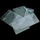 Card pocket made of transparent PVC